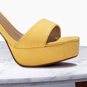 Women platform high chunky heels party sandals