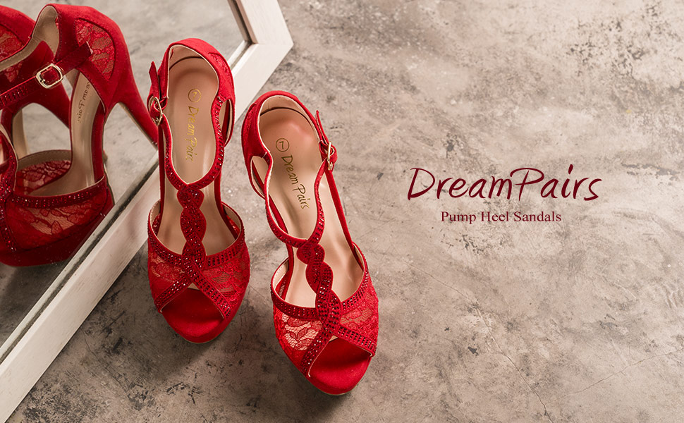 Women stilettos ankle strap pumps heels sandals