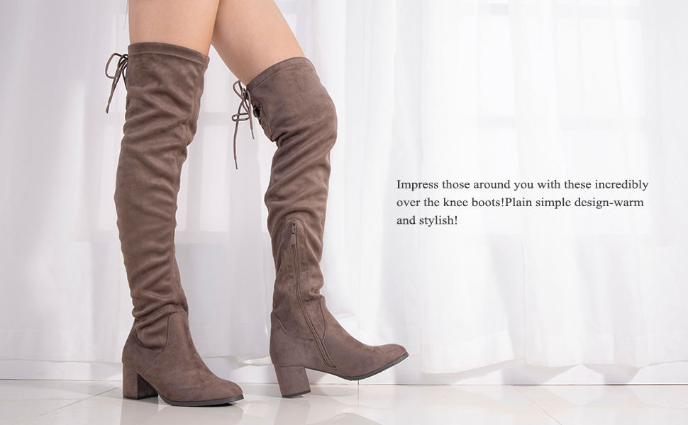 4ec2245493d dream pairs over the knee thigh high boots