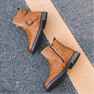 plain toe oxfords