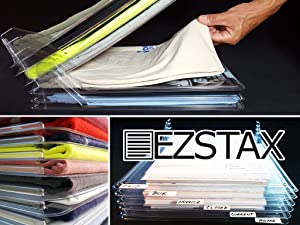 EZSTAX Clothing Organization System Lets You Stack Your Clothes Into Neat,  Easily Visible And Rapidly Accessible Piles. Want That Classic T Shirt From  ...