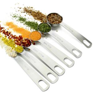 round measuring spoons