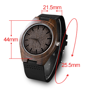 Engraved Wooden Watch for Son Dad Boyfriend Personalized Groomsmen Gift Anniversary Gifts for Men