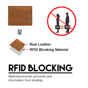 FRID BLOCKING WALLET
