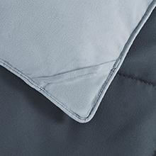 dark grey comforter queen
