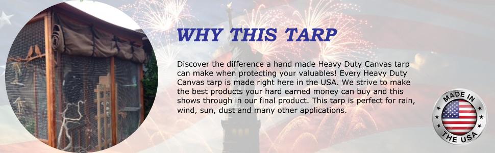 Reasons to choose this tarp.