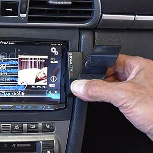 Direct to the radio trim mount