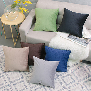 velvet throw pillow covers