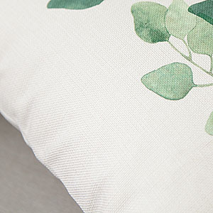 cotton linen throw cushion covers