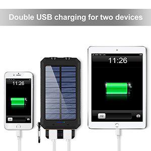 DUAL USB PORTABLE POWER BANK