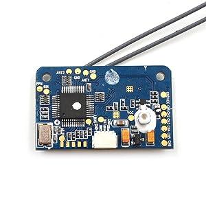 LHI Flysky X6B Receiver 6-channel bidirectional receiver Compatible with  FS-i10 FS-i6, FS-i6S, FS-i6X, FS-i4, FS-i4X - LHI Shop