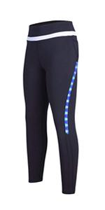Led yoga pants