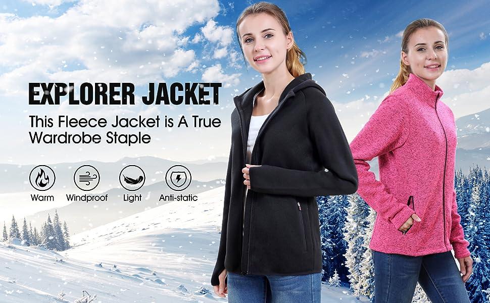 FLECEE COAT FOR WOMEN