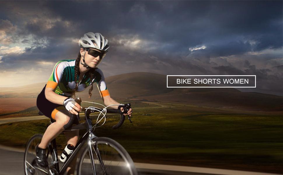 Women Beroy Cycling Short Biking Black with mesh