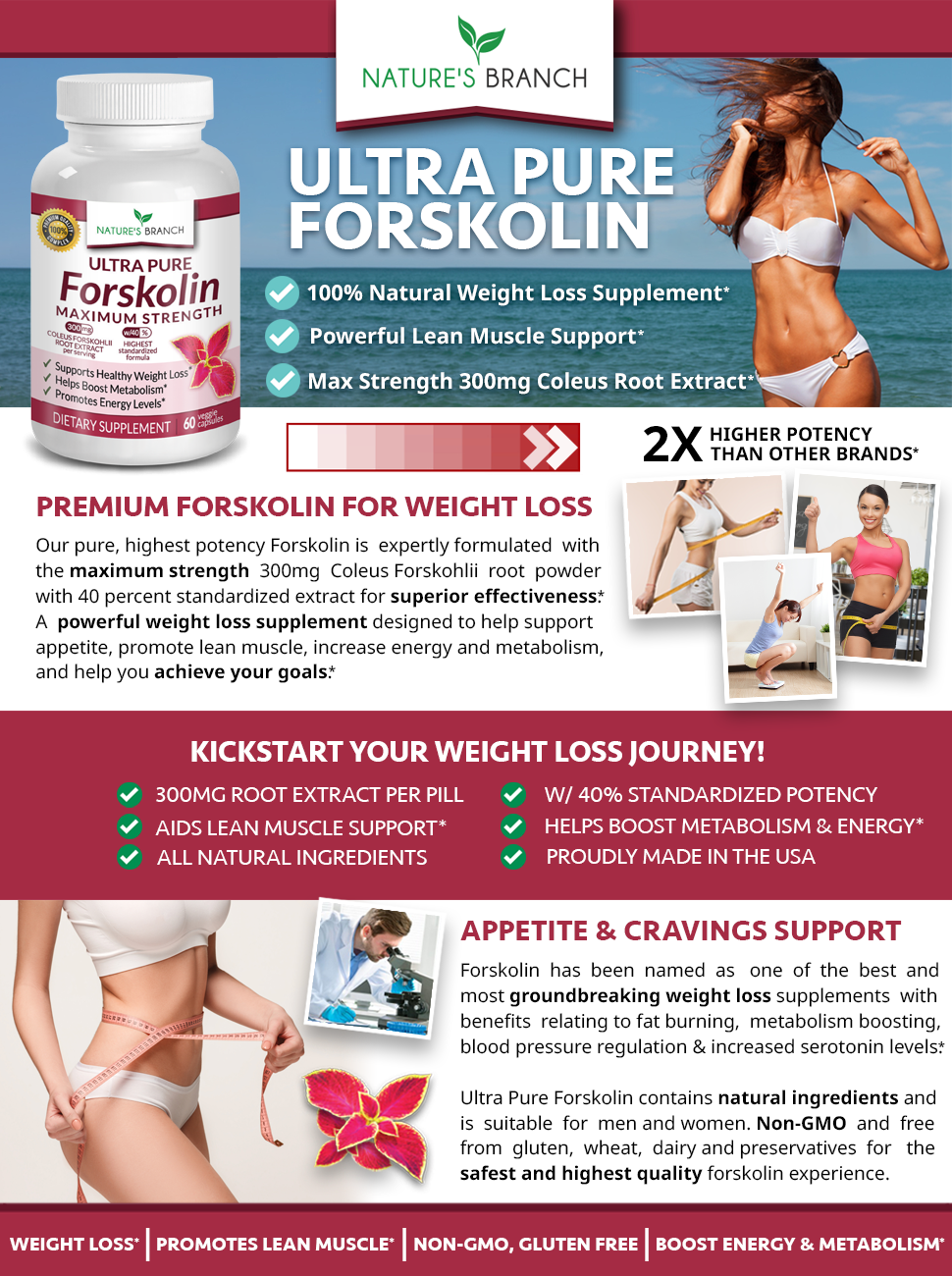 Ultra Pure Forskolin For Weight Loss Extract Supplement md Max Strength Premium Keto Appetite chart