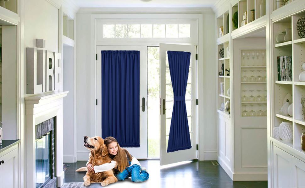 Amazon Com Pony Dance French Door Curtain Top And