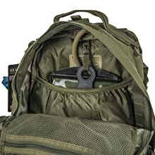Main compartment with internal pocket