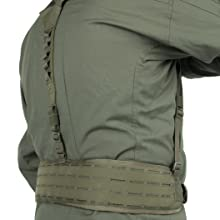 Detachable Waistbelt With Additional Suspenders