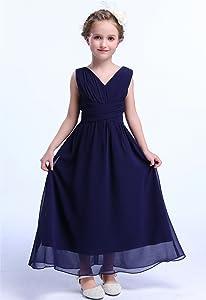 5b6d0709b4 Amazon.com  Happy Rose Juniors Long Bridesmaid Dress Party Dresses ...