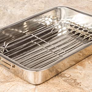 metal roast pan