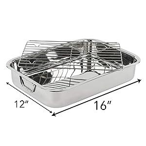 steel roast pan