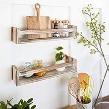 Our wooden shelves are versatile & prebuilt.