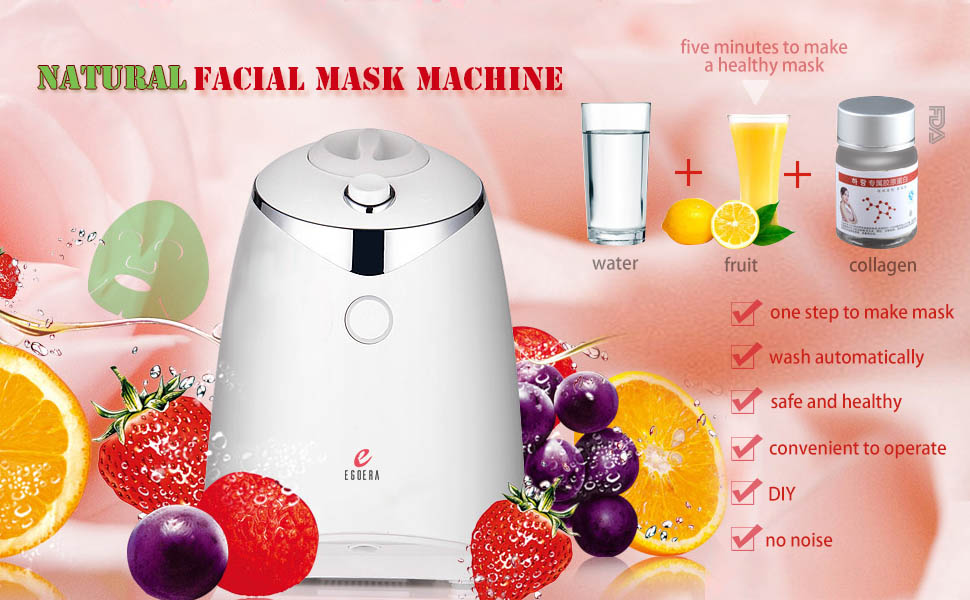 Amazon face mask machine egoera diy natural fruit vegetable only five minutes to make a healthy mask solutioingenieria Images