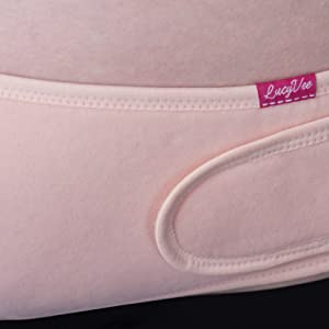 no pregnancy stretchmarks with the lucyvee maternity belt