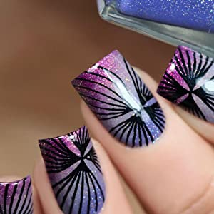 nail art plate