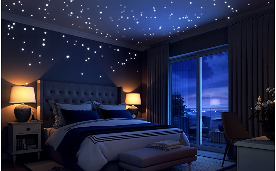 stars for ceiling kids wall sticker