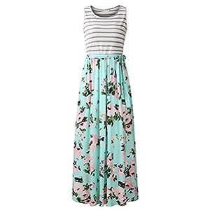 long Maxi dress summer dress women dress long tank dress floral dress flower dress