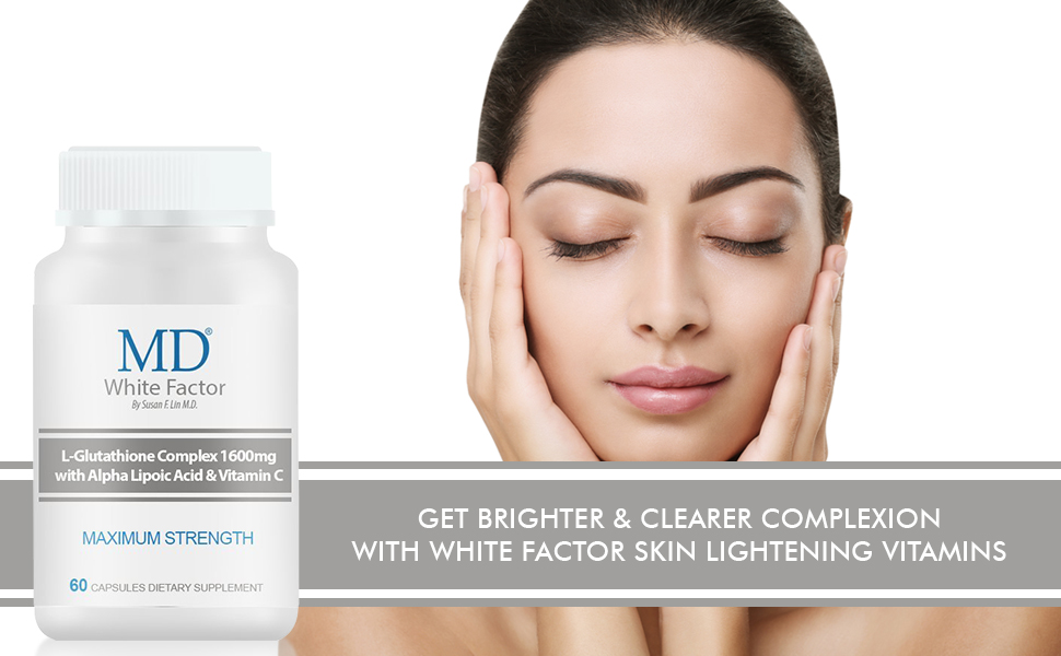 get brighter amp; clearer comlexion with md white factor