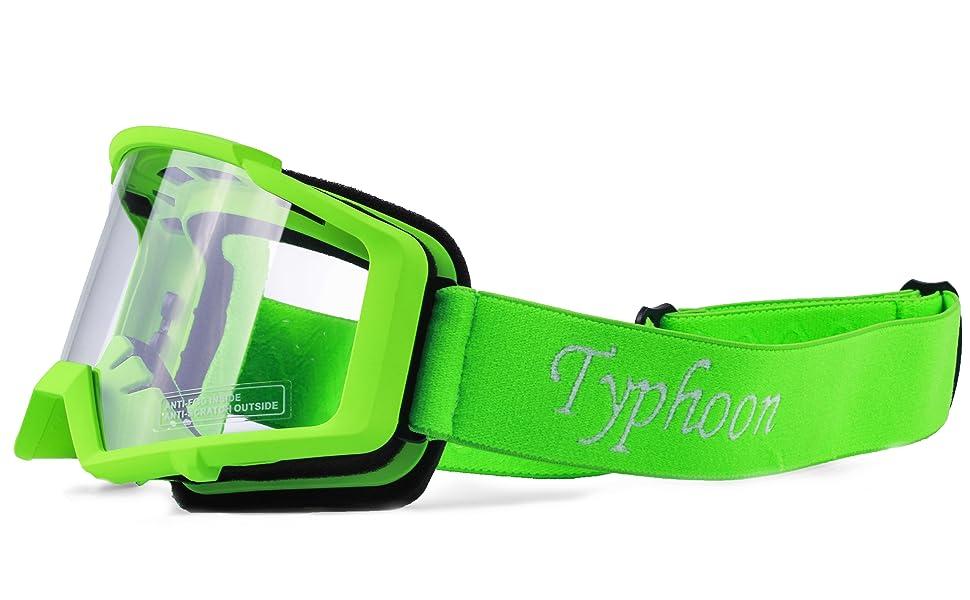 Amazon.com: Typhoon - Guantes y gafas de motocross para ...