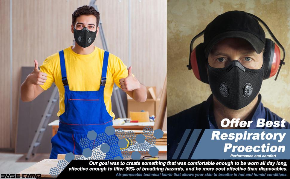 BASE CAMP Dust/Breathing Mask
