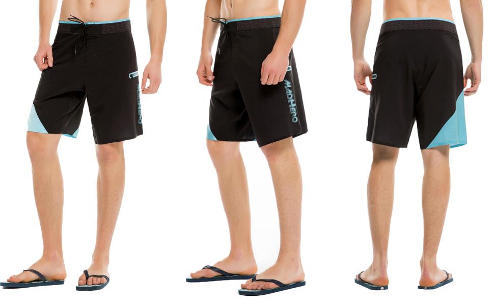 Boardshorts Quick Beach Colorblock Men Madhero Swim Surfing Dry CxoedB