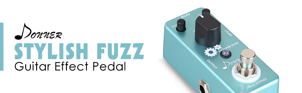 Donner Stylish Fuzz Fuzz Pedal Audio Review by Donner Deal ...