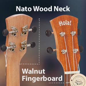 Hola! Music HM-121MG+  Wood Nato Neck Walnut Fingerboard