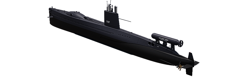 Amazon.com: 1/350 Blue Ridge Modelos USS Halibut SSGN/SSN ...
