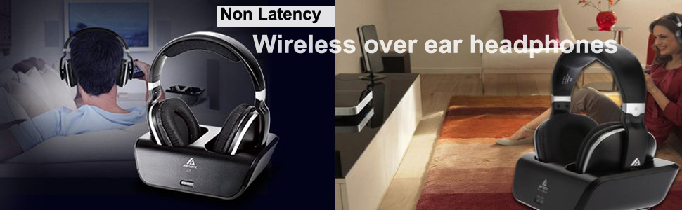 tv ears amazon. artiste adh300 wireless tv headphones without latency for amazon ,netflix,hulu tv ears amazon