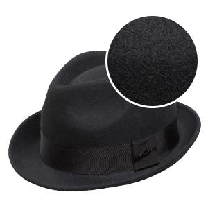 baf558aaa97 Sedancasesa Mens Felt Fedora Hat Unisex Classic Manhattan Indiana Jones Hats