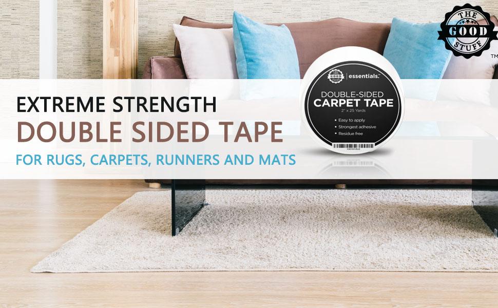 extreme strength carpet tape