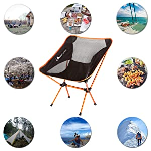Moon Lence Camping Chair