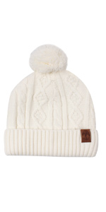 d84310bb4cc Baby Hat Boys Girls Winter Cotton Lined Cute Pom Pom Beanie · Baby Boys  Girls Winter Scarf Infant Thick Knit Scarves · Baby Knit Warm Hat Toddler  Winter ...