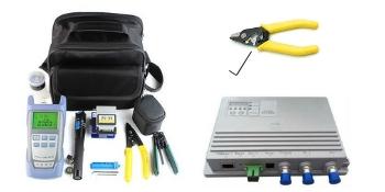 FiberShack Fiber optic 3 hole stripper, agile node and ftth toolkit