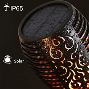 solar torch light