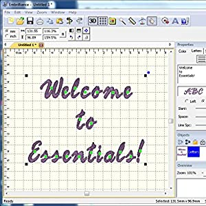 Essentials Embroidery Tools Embroidered Text Fonts Embrilliance