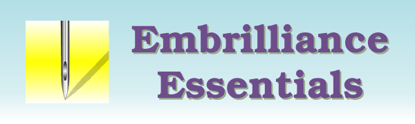 Embrilliance Essentials Embroidery Software Logo