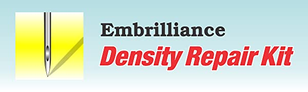 Embrilliance, Density Repair Kit, DRK, Density, Embroidery, Cleaner, Stitch, machine embroidery