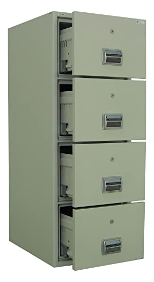 used fireproof file cabinet amffc 400 fireproof and burglary resistant 4 27789