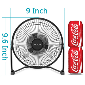 fan with 9 inch metal frame